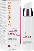 Perfumería y cosmética Corrector antimanchas y amplificador de luminosidad SPF15 - Lancaster Total Age Correction Amplified Dark Spot Corrector
