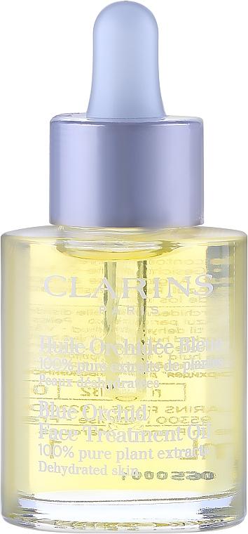 Aceite de tratamiento facial revitalizante de orquídea azul - Clarins Blue Orchid Face Treatment Oil — imagen N2