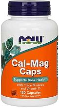 Perfumería y cosmética Complemento alimenticio en cápsulas magnesio y calcio - Now Foods Cal-Mag Caps
