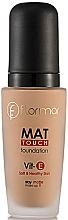 Perfumería y cosmética Base de maquillaje matificante - Flormar Mat Touch Foundation