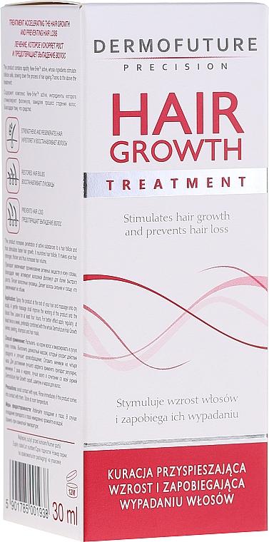 Tratamiento sin aclarado para la anticaída y la estimulación del crecimiento del cabello - DermoFuture Hair Growth Peeling Treatment