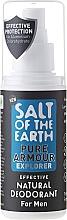Perfumería y cosmética Desodorante antitranspirante spray natural con aloe vera - Salt of the Earth Pure Armour Explorer Natural Deodorant For Men