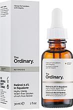 Perfumería y cosmética Sérum facial con 0,2% retinol puro - The Ordinary Retinoids Retinol 0.2% In Squalane