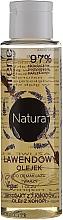 Perfumería y cosmética Aceite desmaquillante facial con extracto de lavanda, jazmín y aceite de semilla de cáñamo - Lirene Natura Makeup Remover Oil
