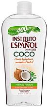 Perfumería y cosmética Aceite corporal hidratante con coco - Instituto Español Coconut Body Oil