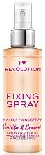 Perfumería y cosmética Spray fijador de maquillaje refrescante e hidratante con aroma a vainilla dulce & coco - I Heart Revolution Fixing Spray Vanilla & Coconut