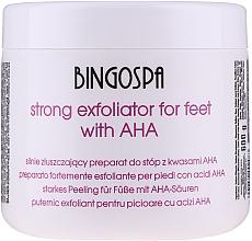 Perfumería y cosmética Preparado suavizante de pies con ácidos de frutas, urea y extracto de lino - BingoSpa Strong Exfoliant for Feet with AHA