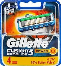 Perfumería y cosmética Recambios de cuchillas, 4uds. - Gillette Fusion ProGlide Power