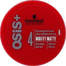 Perfumería y cosmética Crema para cabello con cera microcristalina de fijación extra fuerte - Schwarzkopf Professional Osis+ Mighty Matte Cream