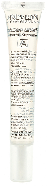 Tratamiento rizada permanente con proteínas de uso profesional - Revlon Professional Sensor Perm-Supreme — imagen N5