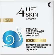 Perfumería y cosmética Crema de noche hidratante y regeneradora con vitamina C y baba de caracol - Lift4Skin Snail C+ Night Cream