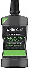 Perfumería y cosmética Enjuague bucal antiséptico - White Glo Charcoal Total Mouth Detox Mouthwash