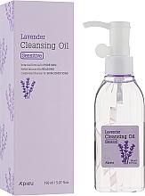 Perfumería y cosmética Aceite desmaquillante con rosa y lavanda, pieles sensibles - A'pieu Lavender Cleansing Oil