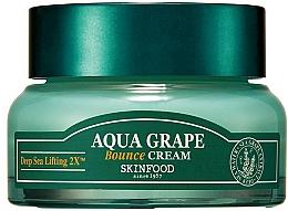 Perfumería y cosmética Crema facial con extracto de uva de mar - SkinFood Aqua Grape Bounce Cream