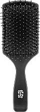 Perfumería y cosmética Cepillo para cabello, 147mm, negro - Ronney Flat Brush