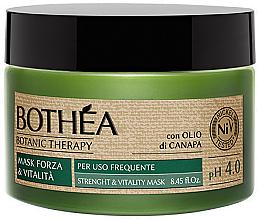Perfumería y cosmética Mascarilla capilar revitalizante con aceite de cáñamo - Bothea Botanic Therapy Strenght Vitality Mask pH 4.0
