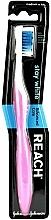 Perfumería y cosmética Cepillo dental medio, rosa-blanco - Reach Stay White