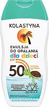 Perfumería y cosmética Emulsión solar corporal con provitamina D - Kolastyna Sun Protection Kids Lotion SPF 50