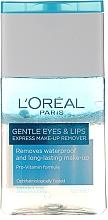 Perfumería y cosmética Desmaquillante suave para ojos y labios - L'Oreal Paris