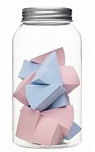 Perfumería y cosmética Esponjas de maquillaje en tarro, 415216, 14uds. - Inter-Vion