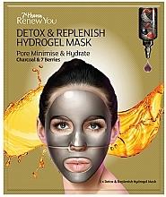 Perfumería y cosmética Mascarilla facial de hidrogel con carbón activo y extracto de bayas - 7th Heaven Renew You Detox Replenish Hydrogel Mask
