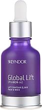 Emulsión para redifininición de rostro y cuello con extracto de algas y lupino - Skeyndor Lift Contour Elixir Face&Neck — imagen N2