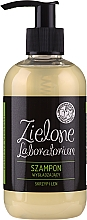 Perfumería y cosmética Champú alisante con cola de caballo y lino - Zielone Laboratorium
