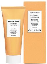 Perfumería y cosmética Crema facial aftersun con aceite de avellana y karité - Comfort Zone Sun Soul Face Cream Aftersun
