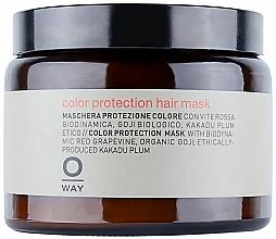 Perfumería y cosmética Mascarilla protectora de color con vid roja y bayas de goji - Rolland Oway ColorUp