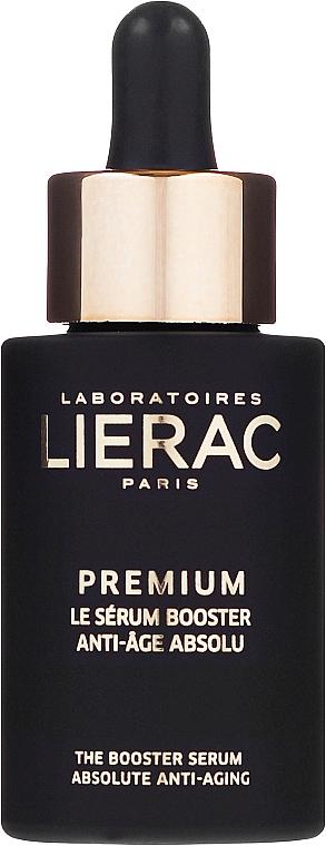 Sérum facial antiedad con ácido hialurónico y extracto de orquídea negra - Lierac Exclusive Premium Serum Regenerant — imagen N2