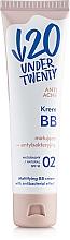 Perfumería y cosmética BB crema facial con color antiacné y antibacteriana SPF10 - Under Twenty Anti Acne Matting Cream