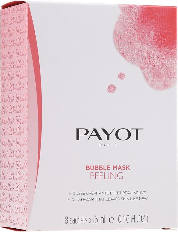 Mascarilla facial exfoliante con extracto de frambuesa - Payot Les Demaquillantes Peeling Oxygenant Depolluant Bubble Mask