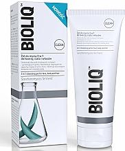 Perfumería y cosmética Gel limpiador de rostro, cuerpo y cabello con extractos de caléndula y aloe - Bioliq Clean Cleansing Gel For Face Body And Hair