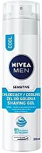 Perfumería y cosmética Gel de afeitar refrescante sin alcohol - Nivea For Men Active Comfort System