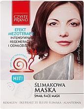 Perfumería y cosmética Mascarilla capilar con extracto de baba de caracol - Czyste Piekno Snail Face Mask
