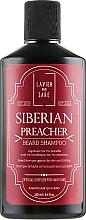 Perfumería y cosmética Champú hidratante para barba con aceite de almendras dulces - Lavish Care Siberian Preacher Beard Shampoo
