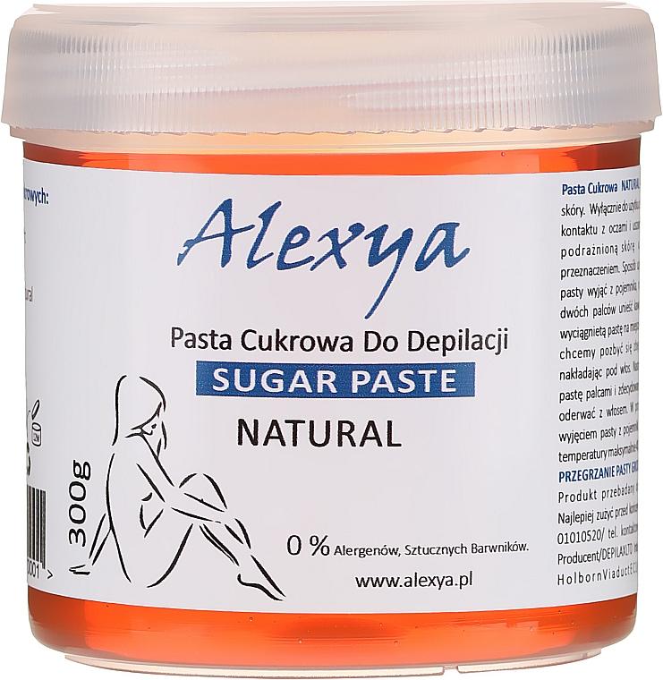 Pasta depilatoria de azúcar - Alexya Sugar Paste For Depilation Natural