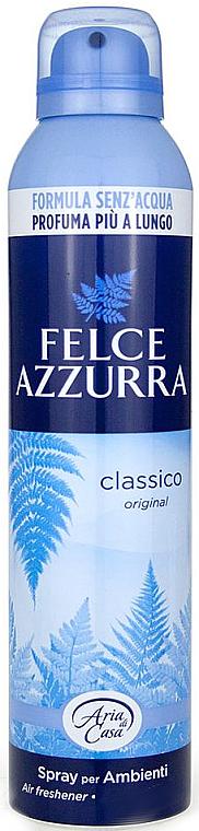 Ambientador, clásico original - Felce Azzurra Classic Talc Spray