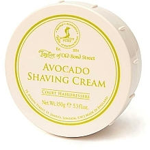 Perfumería y cosmética Crema de afeitar con aguacate - Taylor of Old Bond Street Avocado Shaving Cream Bowl