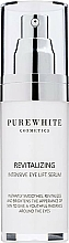 Perfumería y cosmética Sérum contorno de ojos revitalizante con aceite de camelia y ácido hialurónico - Pure White Cosmetics Revitalizing Intensive Eye Lift Serum