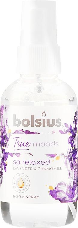 Ambientador en spray lavanda y camomila - Bolsius Room Spray True Moods So Relaxed