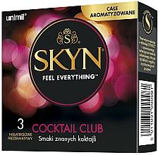Perfumería y cosmética Preservativos sin látex con sabores de tres cócteles populares, 3 uds. - Unimil Skyn Cocktail Club