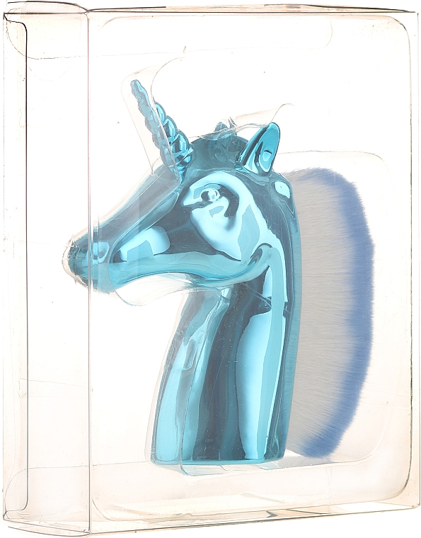 Cepillo de manicura, unicornio azul claro - Neess