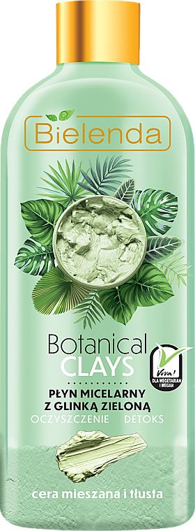 Agua micelar con arcilla verde - Bielenda Clays