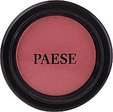 Perfumería y cosmética Colorete facial compacto en polvo con aceite de argán - Paese Blush Argan Oil