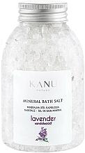 Perfumería y cosmética Sales de baño minerales con aroma a lavanda y sándalo - Kanu Nature Lavender Mineral Bath Salt
