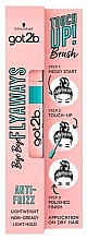 Perfumería y cosmética Máscara de retoque para cabello - Schwarzkopf Got2b Bye Bye Flayaways Touch Up Brush