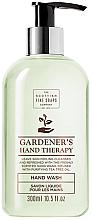 Perfumería y cosmética Jabón de manos líquido con aceite de árbol de té - Scottish Fine Soaps Gardeners Therapy