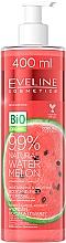 Perfumería y cosmética Hidrogel para cuerpo y rostro natural con extracto de sandía y centella asiática - Eveline Cosmetics 99% Natural Watermelon
