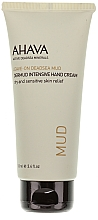 Perfumería y cosmética Crema de manos con barro mineral del Mar Muerto - Ahava Dermud Hang Cream Dry & Sensitive Relief